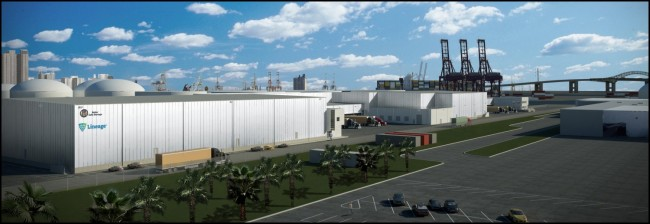 CEC BREAKS GROUND ON COLD STORAGE FACILITY IN PORT OF LONG BEACH