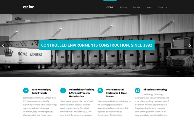 LAUNCHING NEW WEBSITE TO SERVE THE COLD STORAGE COMMUNITY